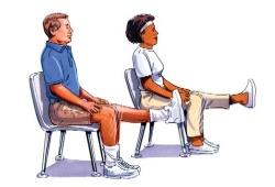 гимнастика для колена