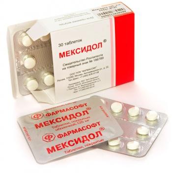 мексидол улучшает циркуляцию крови в мозге
