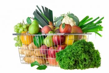 в рацион необходимо включить большое количество овощей и фруктов