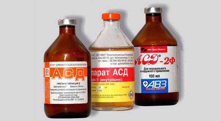 асд 2 лечение при простатите